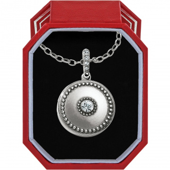 Twinkle Small Round Locket Necklace Box Set