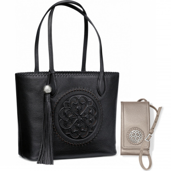 Ferrara Medallion Handbag Set