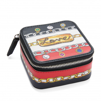 Fashionista Simply Charming Small Square Jewelry Case