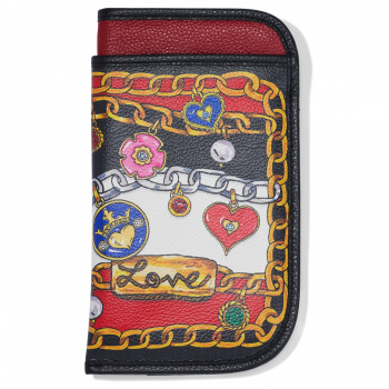 Fashionista Simply Charming Double Eyeglass Case