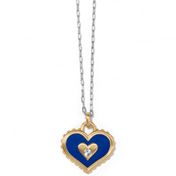 Fashionista Simply Charming Giving Heart Necklace