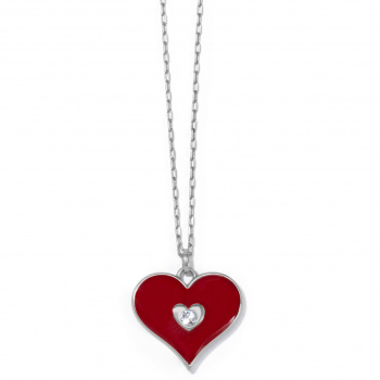 Fashionista Simply Charming Love Necklace
