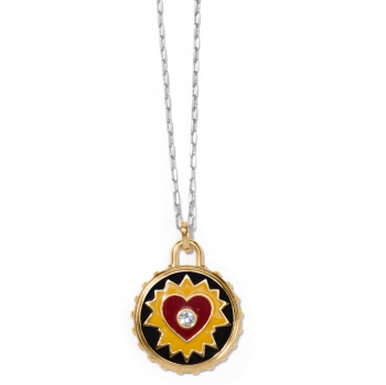 Simply Charming Passion Heart Necklace
