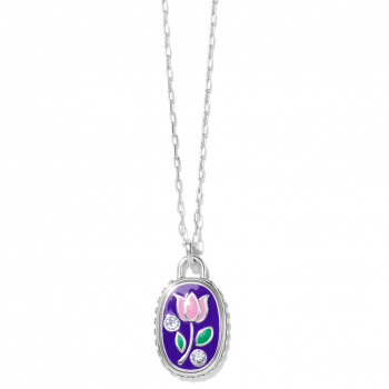 Fashionista Simply Charming Flower Necklace