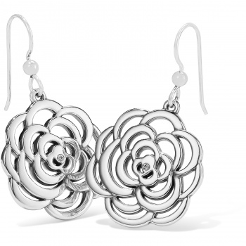 THE BOTANICAL The Botanical Rose French Wire Earrings