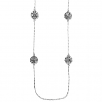 Pebble Round Reversible Long Necklace