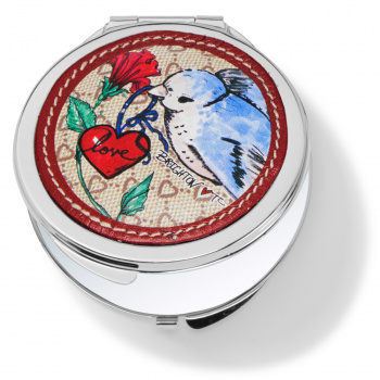 Field Of Love Compact Mirror