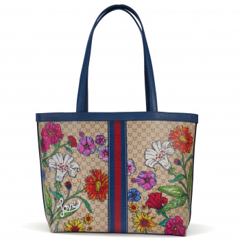 Fashionista Field Of Love Large Tote