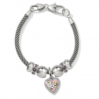 Blooming Heart Bracelet