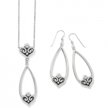 Alcazar Heart Teardrop Gift Set