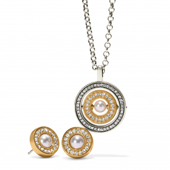 Meridian Pearl Gold Gift Set