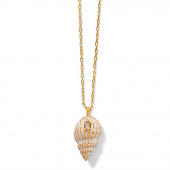 PARADISE COVE Paradise Cove Spiral Shell Necklace