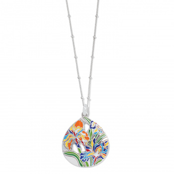 Iris Bloom Short Necklace