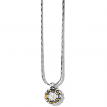 Meridian Golden Pearl Short Necklace