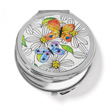 Garden Wings Compact Mirror