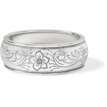 Essex Etched Hinged Bangle