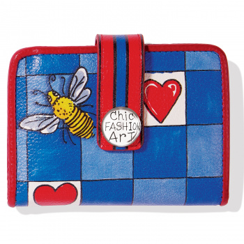 Fashionista Bee Happy Small Wallet