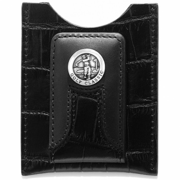 Golf Croco Money Clip