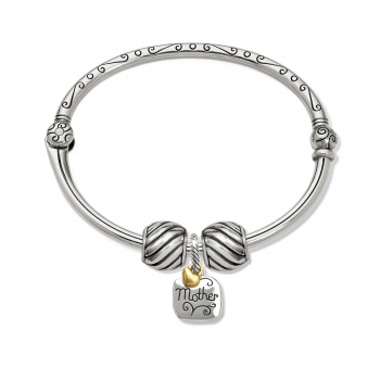 For All The Mom's Charm Bangle