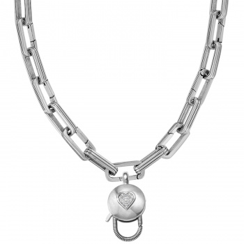 Maria Link Charm Necklace