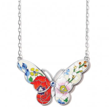 Blossom Hill Butterfly Necklace