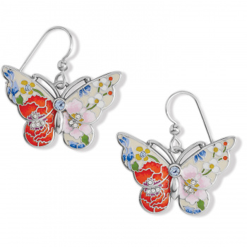 Blossom Hill Butterfly French Wire Earrings