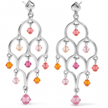 Prism Lights Sparkle Post Drop Earrings
