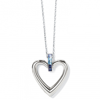 Spectrum Open Heart Necklace