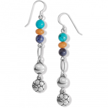 Pebble Paradise French Wire Earrings