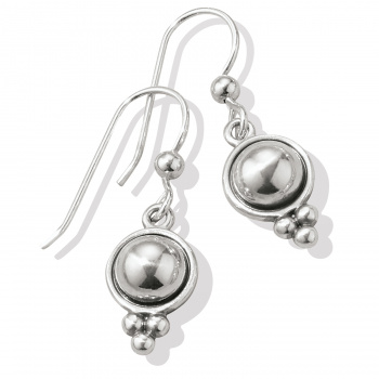Pretty Tough Stud French Wire Earrings