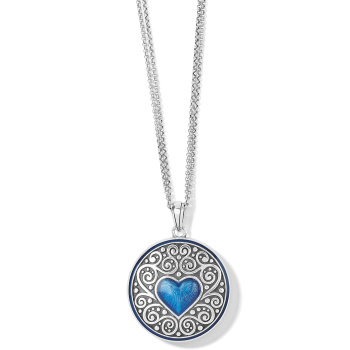 Noble Heart Convertible Locket Necklace