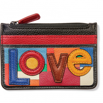 Fashionista Love Patch Card Coin Case
