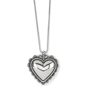 Sonora Bold Heart Necklace