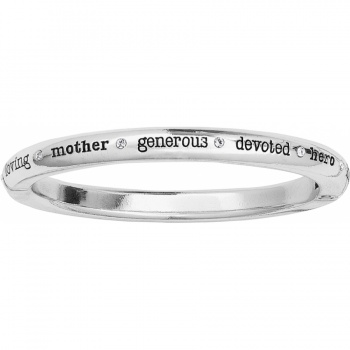 Love Mom Love Mom Hinged Bangle
