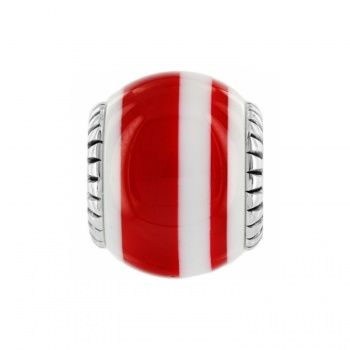 Sugar Stripe Bead