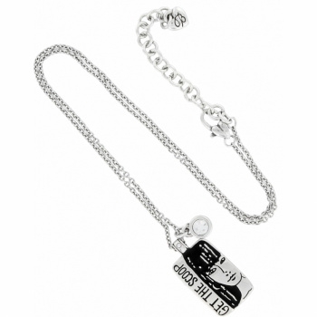 Fashionista Get The Scoop Necklace