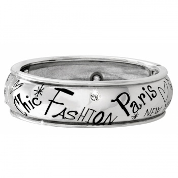 Fashionista Fashionista Hinged Bangle