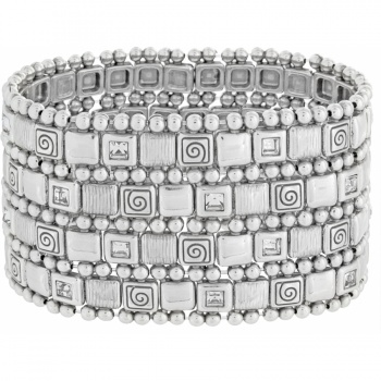 Ravenna Wide Stretch Bracelet