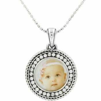 Memento Memento Circle Photo Necklace