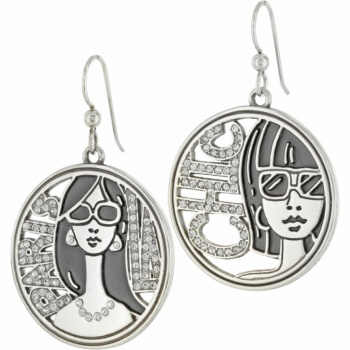 Fashionista City French Wire Earrings