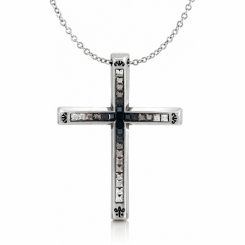 Spectrum Spectrum Cross Necklace