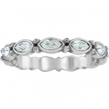 Scalloped Stack Ring