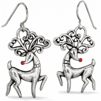 Reindeer French Wire Earrings