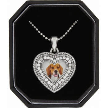 Memento Memento Heart Photo Necklace Box Set