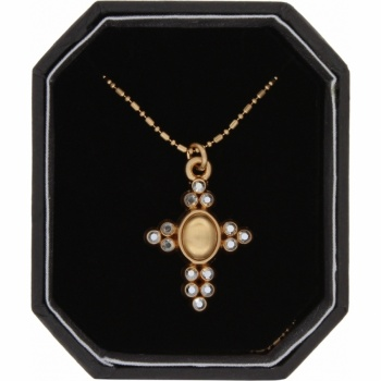 Crystal Palace Crystal Palace Cross Necklace Box Set