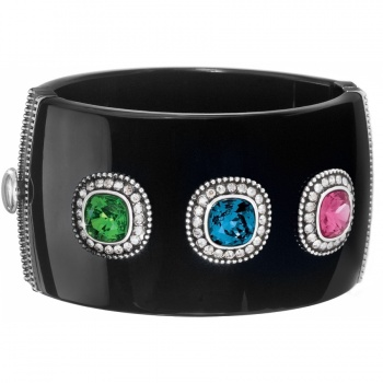 Bright Sparks Hinged Bangle