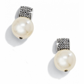 Meridian Meridian Pearl Post Drop Earrings