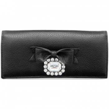 Pretty Witty & Wise Gem Large Wallet