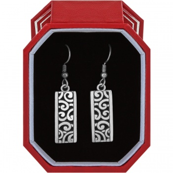 Deco Lace French Wire Earrings Gift Box