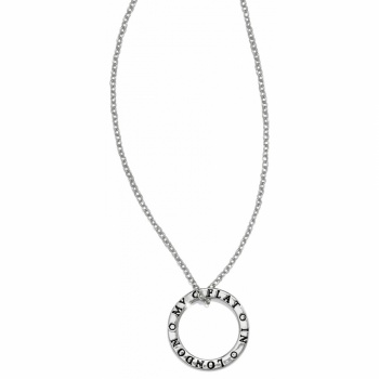 London Roundabout Charm Necklace